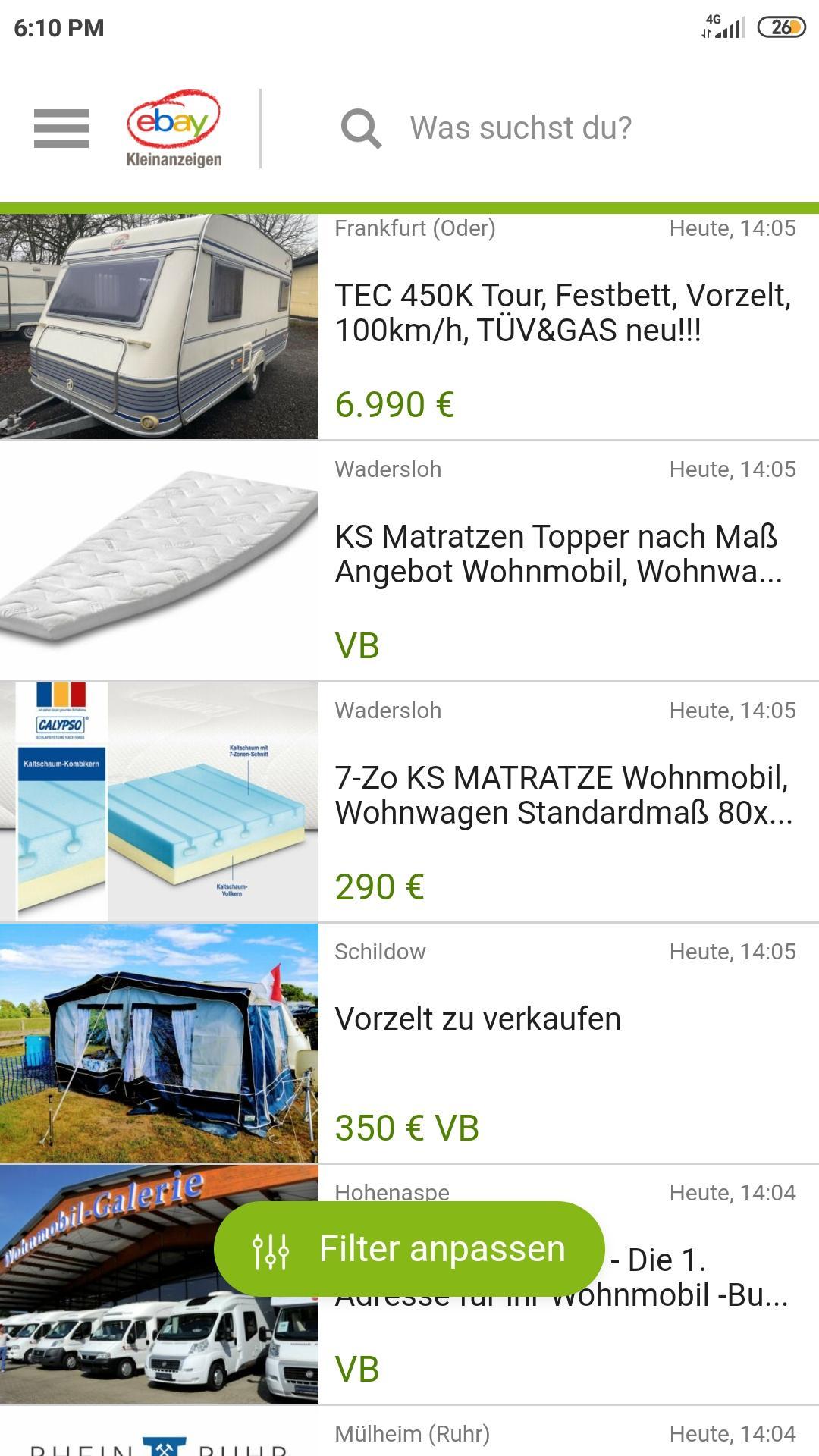 Wohnmobil Kaufen Deutschland poster