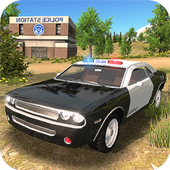 Police Car Offroad Driving icon