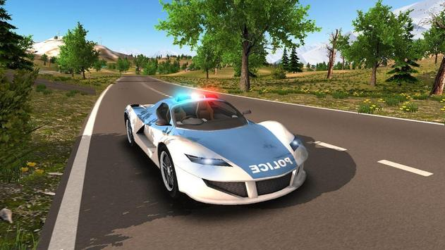 Police Car Offroad Driving screenshot 2