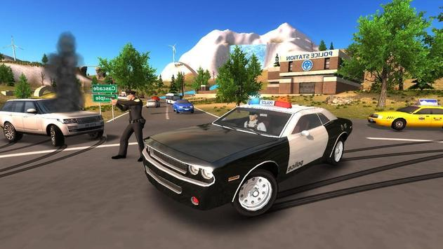 Police Car Offroad Driving screenshot 3