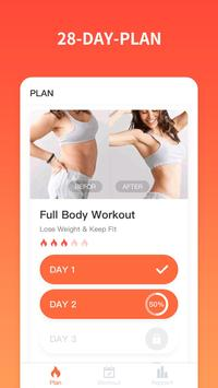Workout for women poster
