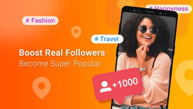 Boost Royal Followers with Nearby 8000+ Likes Tags screenshot 1