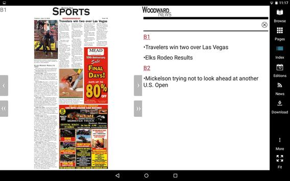 Woodward News screenshot 6