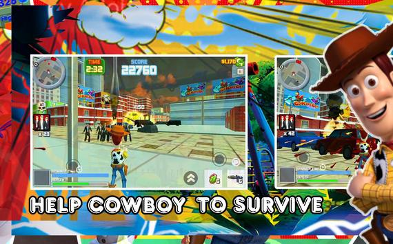 Toy Woody Story : Action Game poster