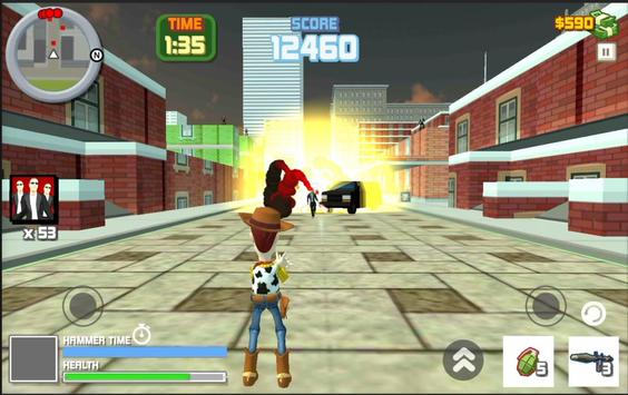 Toy Woody Story : Action Game screenshot 12