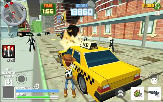 Toy Woody Story : Action Game screenshot 1