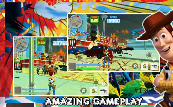 Toy Woody Story : Action Game screenshot 2