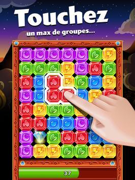 Diamond Dash, un jeu de séries de 3 et réflexion capture d'écran 5