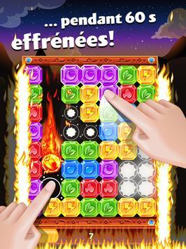 Diamond Dash, un jeu de séries de 3 et réflexion capture d'écran 6