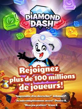 Diamond Dash, un jeu de séries de 3 et réflexion capture d'écran 9
