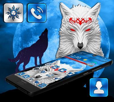 Wolf Moon Theme screenshot 1