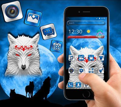 Wolf Moon Theme screenshot 2