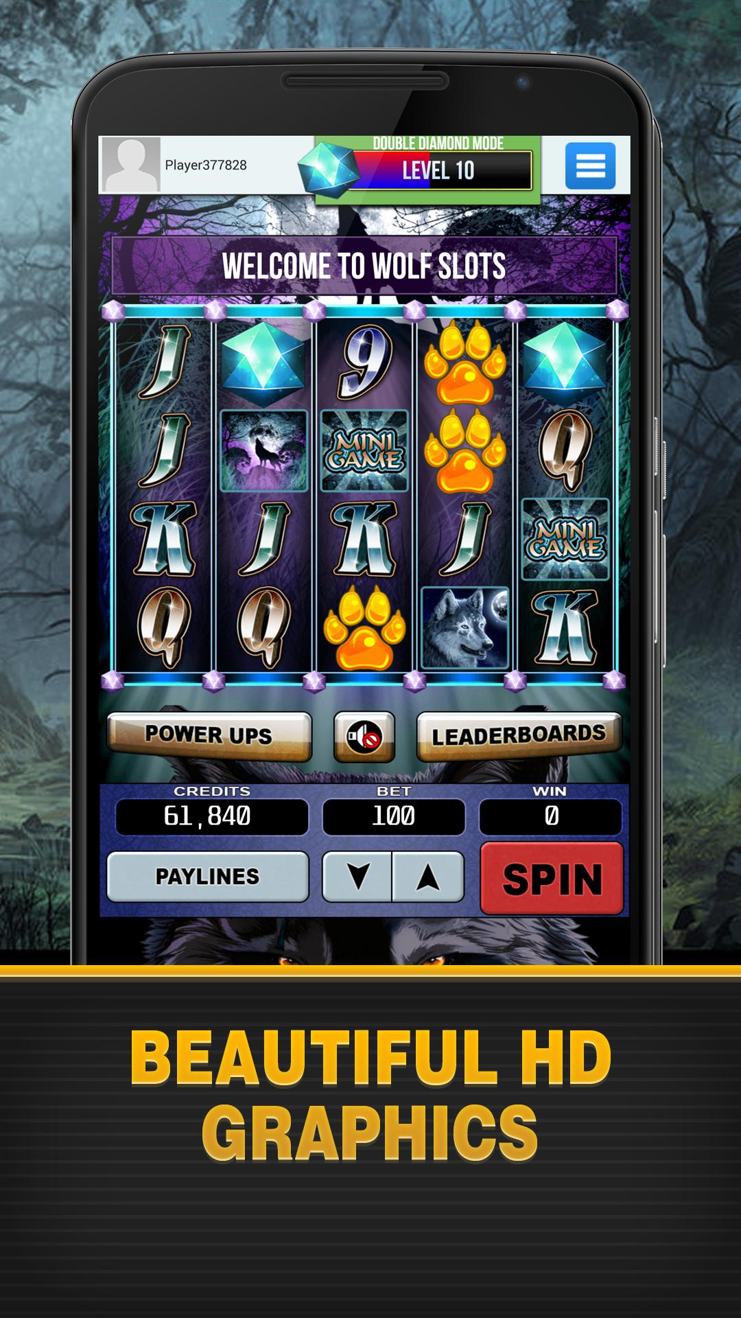 Wolf Slots poster