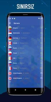 Kurt Vpn - Ücretsiz Sınırsız Vpn Proxy Hizmeti Ekran Görüntüsü 2