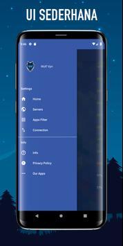 Wolf VPN Layanan Proxy VPN Gratis Tidak Terbatas screenshot 5