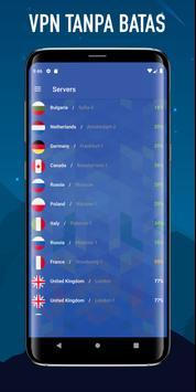 Wolf VPN Layanan Proxy VPN Gratis Tidak Terbatas screenshot 2