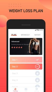 Women workout - 30 day fitness app for weight loss poster