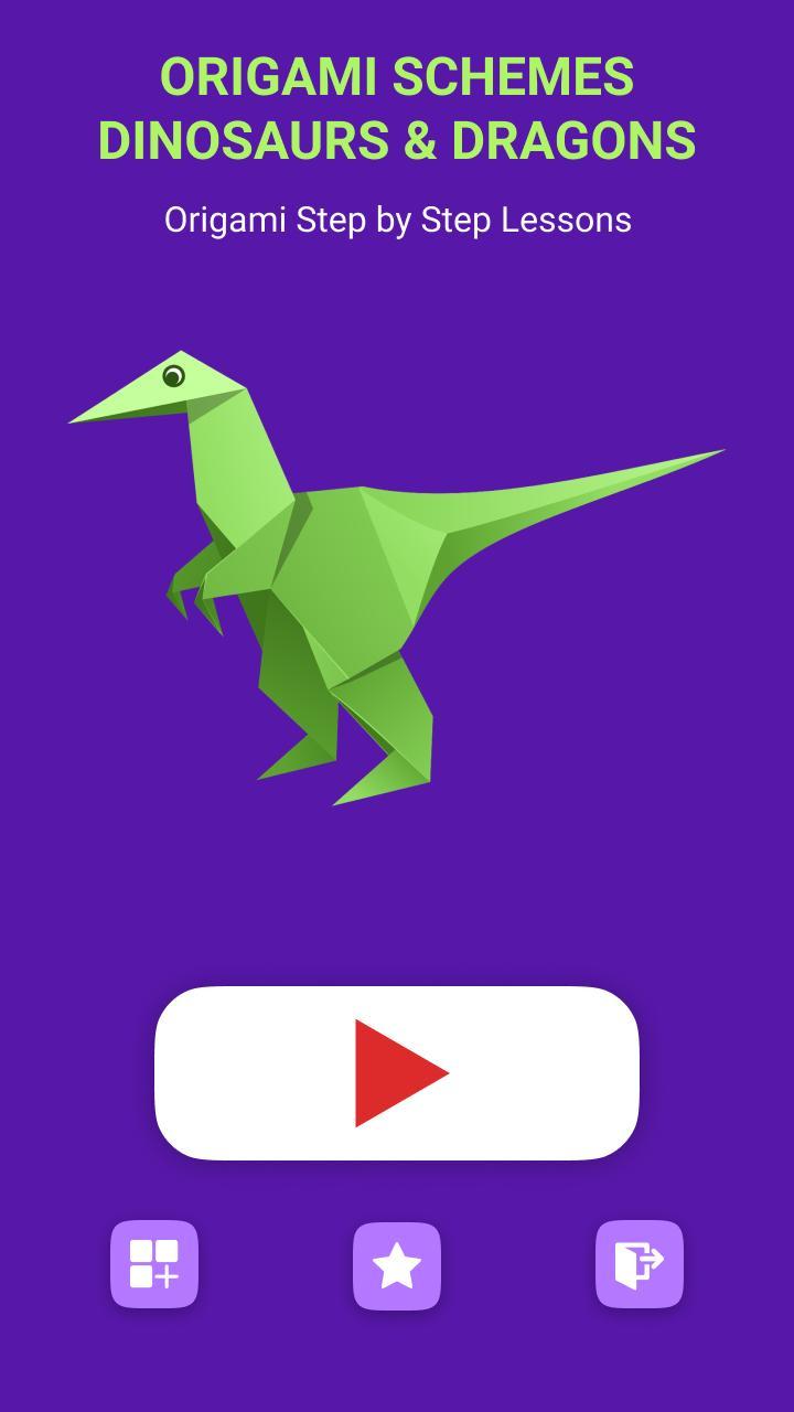 Origami velociraptor.I named it a Clever girl. : JurassicPark | 1280x720