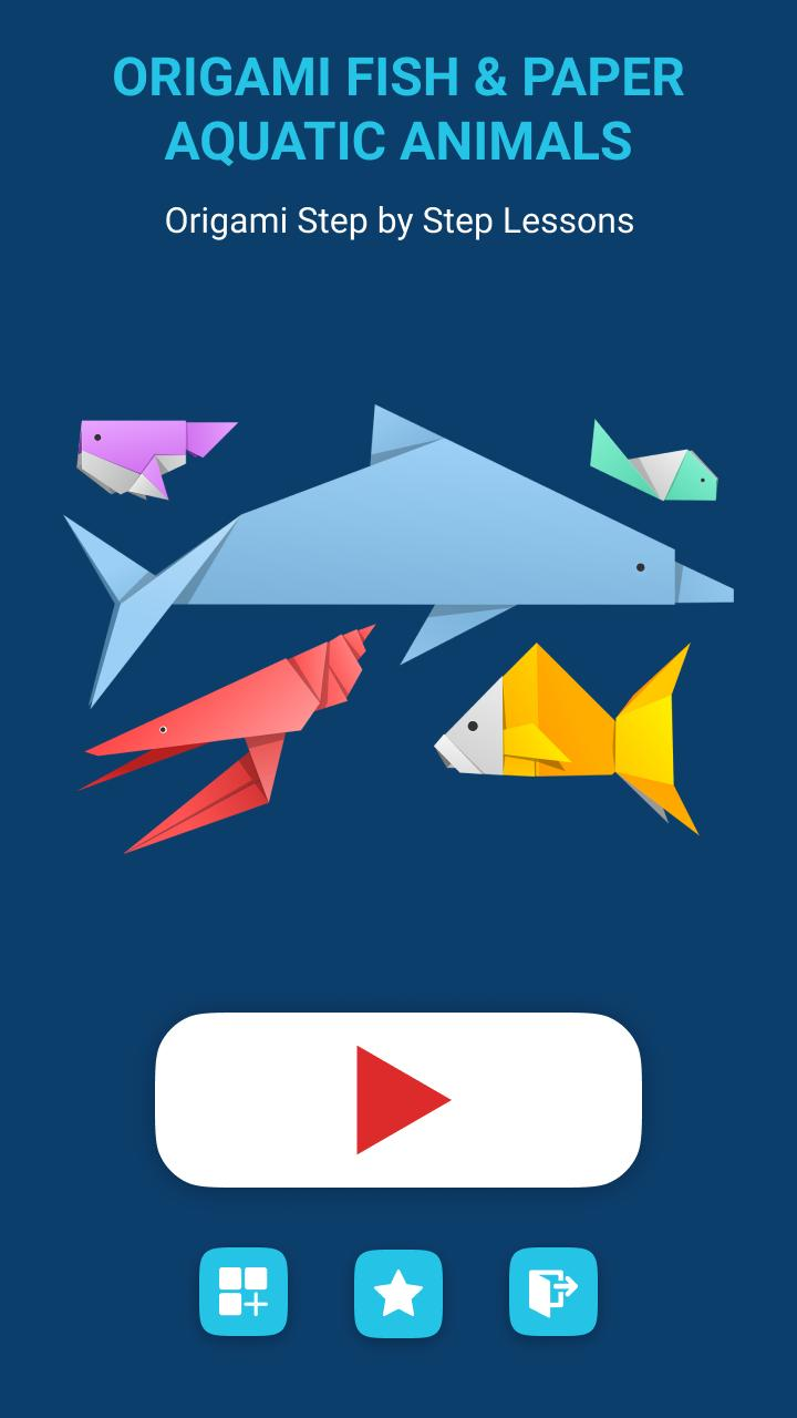 Cute & Easy Origami Fish - DIY How To Make Origami Fish - 3D ... | 1280x720