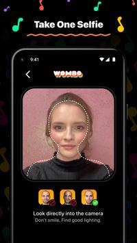 Poster Wombo: Make your selfies sing