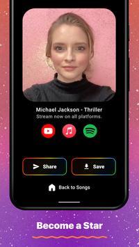 2 Schermata Wombo: Make your selfies sing