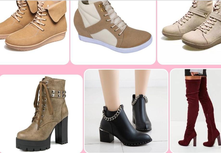 Women's Boots Design poster