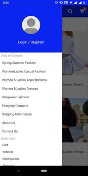 Women and Ladies Fashion Mobile App screenshot 1