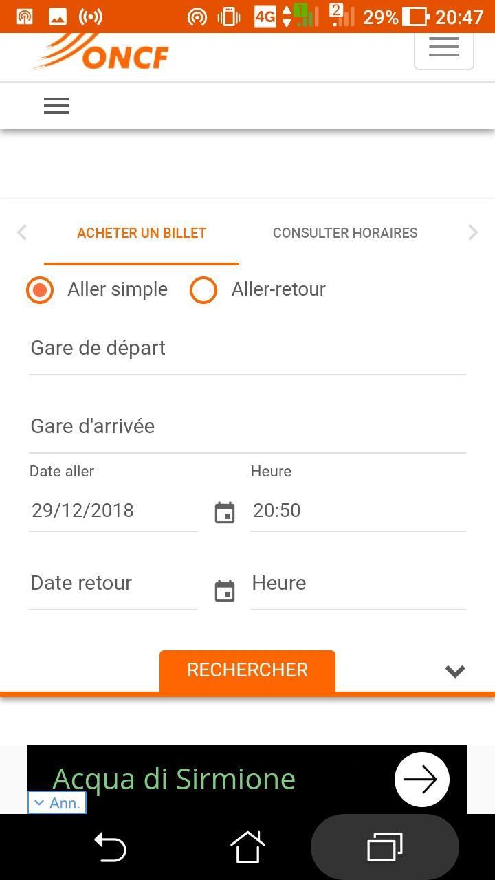 HORAIRE GRATUITEMENT ONCF TÉLÉCHARGER TRAIN