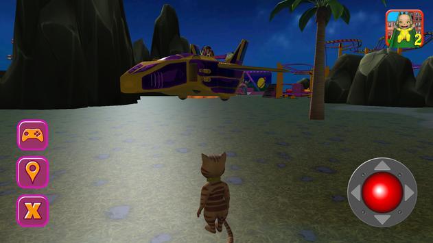 Halloween Cat Theme Park 3D screenshot 6