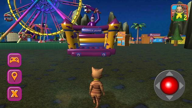 Halloween Cat Theme Park 3D screenshot 7