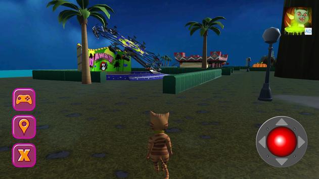 Halloween Cat Theme Park 3D screenshot 18