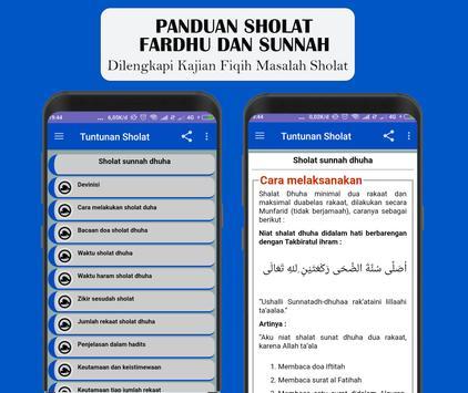 Panduan Sholat Fardhu dan Sunnah Lengkap screenshot 6