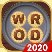 Word Cookies Puzzle - Word connect Game أيقونة