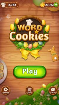 Word Cookies Puzzle - Word connect Game الملصق