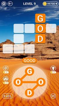 Word Cookies Puzzle - Word connect Game تصوير الشاشة 1