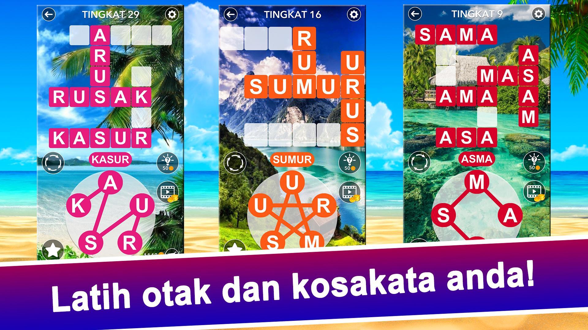 Kata Lintas Pencarian Teka Teki Silang Indonesia For Android Apk Download