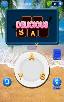 Word Puzzle Story Chef Cookie screenshot 1