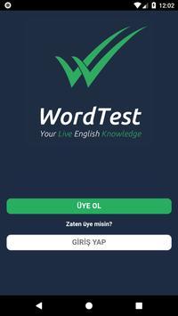 WordTest poster