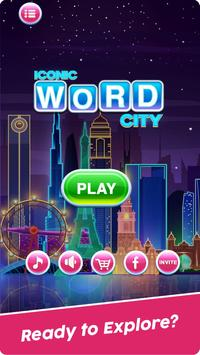 Word Connect Puzzle Game: Word Iconic City Free poster