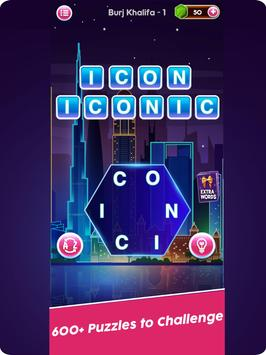 Word Connect Puzzle Game: Word Iconic City Free screenshot 11