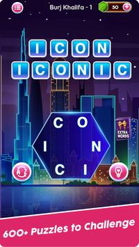 Word Connect Puzzle Game: Word Iconic City Free screenshot 1