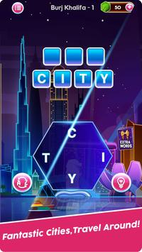 Word Connect Puzzle Game: Word Iconic City Free screenshot 3