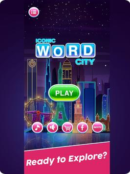 Word Connect Puzzle Game: Word Iconic City Free screenshot 5