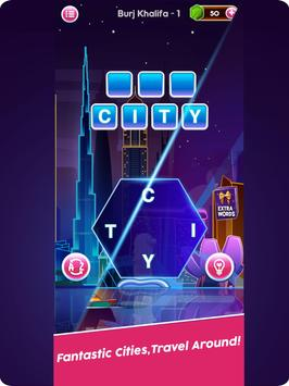 Word Connect Puzzle Game: Word Iconic City Free screenshot 8