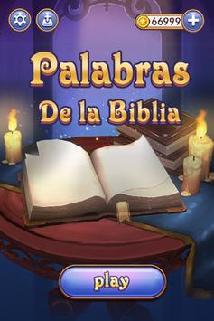 Palabras De La Biblia poster