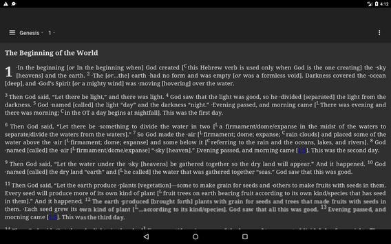 Holy Bible New International Version (NIV) screenshot 9