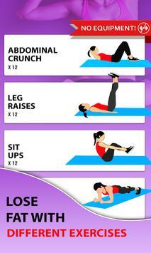 15 Days Belly Fat Workout App screenshot 4