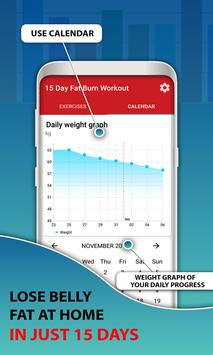 15 Days Belly Fat Workout App screenshot 5