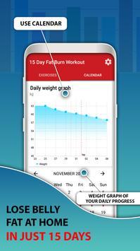 15 Days Belly Fat Workout App screenshot 12