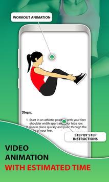 15 Days Belly Fat Workout App screenshot 1